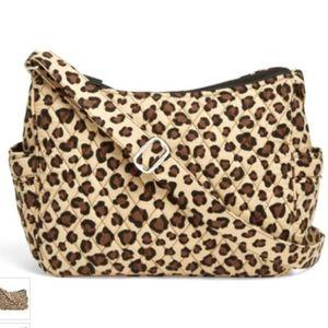 NWT Vera Bradley Leopard Crossbody Bag